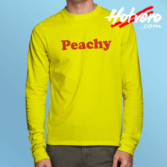 Peachy Classic Record Long Sleeve Shirt