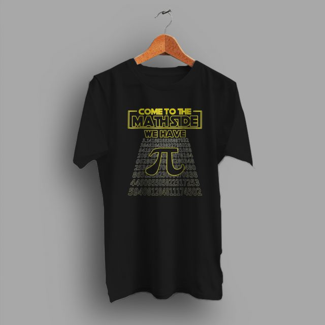 Pi Day Come To The Math Side Geek T Shirt