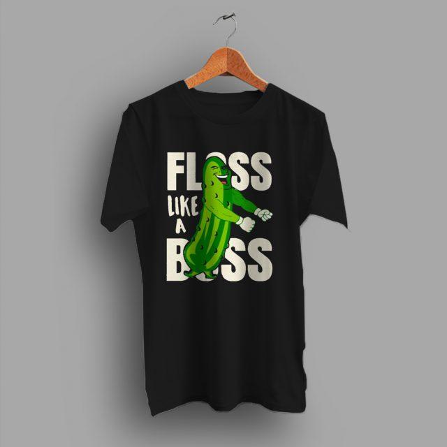 Pickle Dance Floss Like Boss Fortnite Game T Shirt