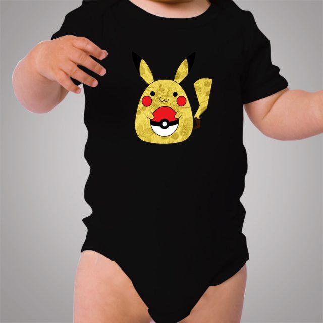 Pokemon Totoro Pikachu Baby Onesie