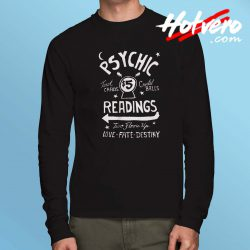 Psychic Readings Tarot Card Long Sleeve T Shirt