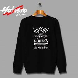 Psychic Readings Tarot Card Unisex Sweatshirt