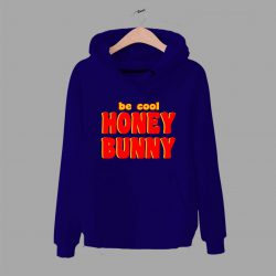 Pulp Fiction Be Cool Honey Bunny Vintage Hoodie