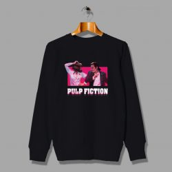 Pulp Viction Mia Wallace Dance Unisex Sweatshirt
