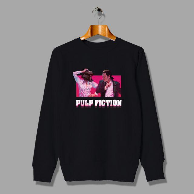 Pulp Viction Mia Wallace Dance Unisex Sweatshirt