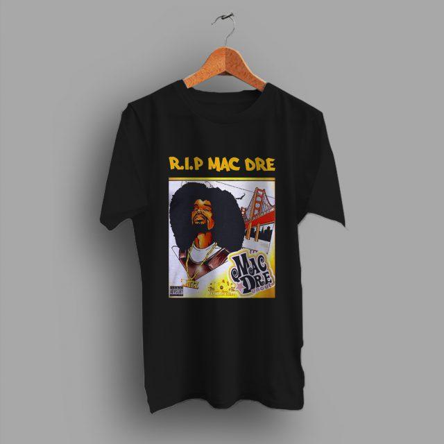 RIP Mac Dre Vintage Hip Hop T Shirt Rapper Tee