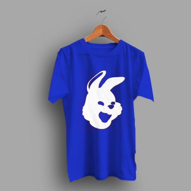 Rabbit Animals Ladies Bunny Mask Cute T Shirt
