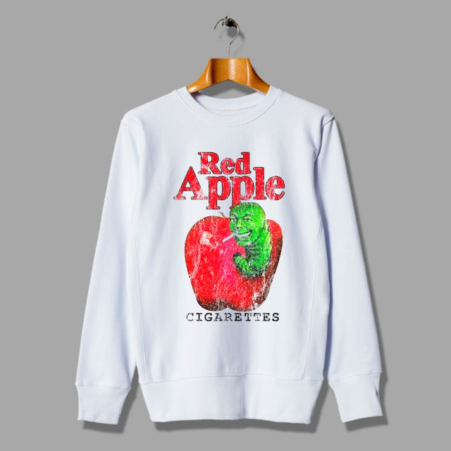 Red Apple Cigarettes Kill Bill Vintage Unisex Sweatshirts