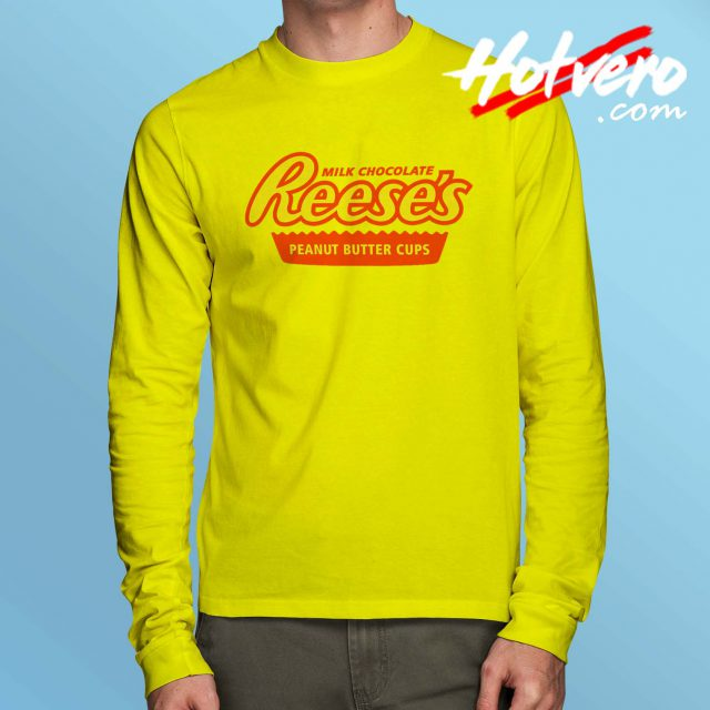 Reeses Peanut Butter Vintage Long Sleeve Shirt
