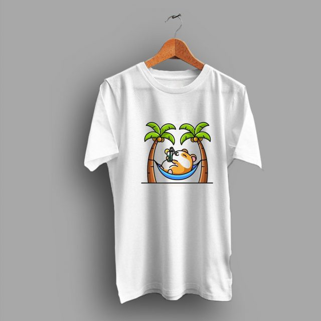 Relax Hammock Let get Drink So Cute T Shirt