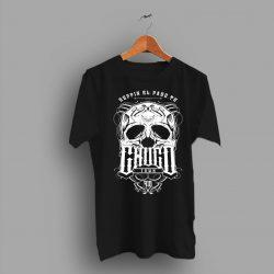Reppin El Paso.Tx Chuco Town Skull T Shirt
