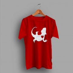 Reptile Lover Lizard Bearded Dragon Graphic Cute T Shirt