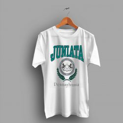Retro Logo Juniata Pennsylvania University 1992 College T Shirt