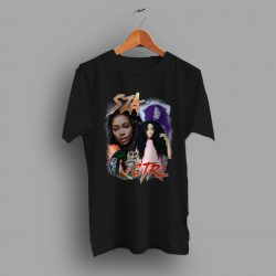 SZA CTRL Rap Girl Vintage T Shirt