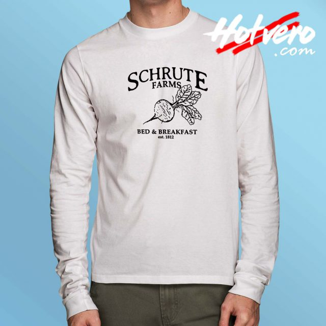 Schrute Farms Bed And Breakfast Long Sleeve Shirt