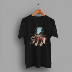 Side Rock Reprint The Beatles Abbey Road Concert T Shirt