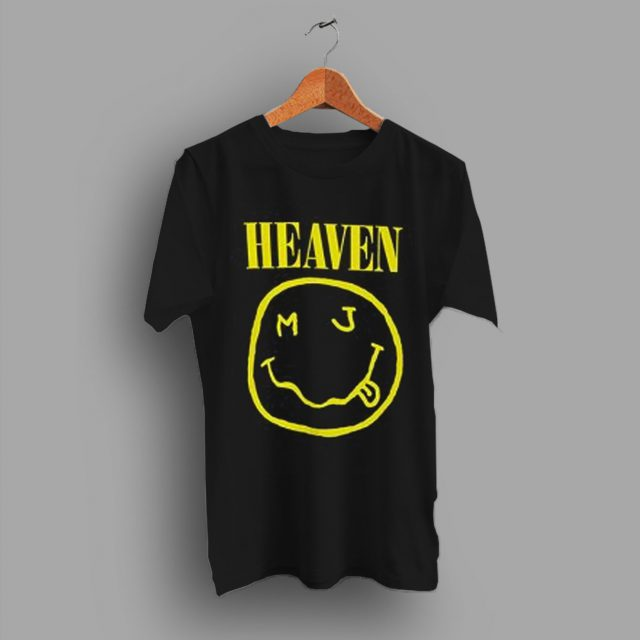 Smile Face Nirvana You Are Heaven T Shirt