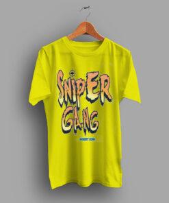 Sniper Gang Fighter Yellow Apparel T Shirt