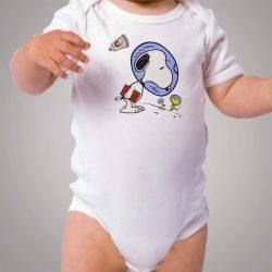 Snoopy Astronaut Baby Onesie Bodysuit