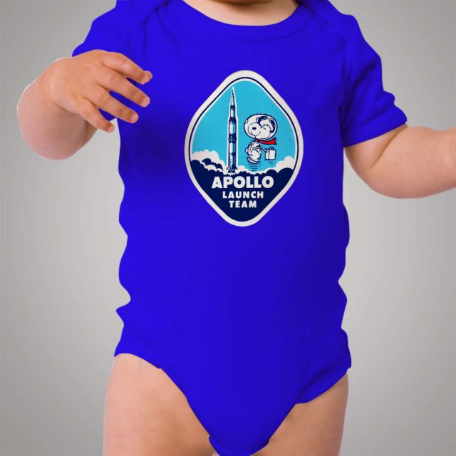 Snoopy Astronout Launch Baby Onesie Bodysuit