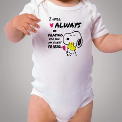 Snoopy Best Friend Quotes Baby Onesie Bodysuit