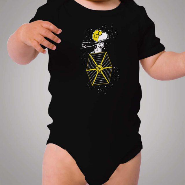 Snoopy Galaxy Space Baby Onesie Bodysuit