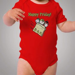 Snoopy Happy Friday Baby Onesie Bodysuit