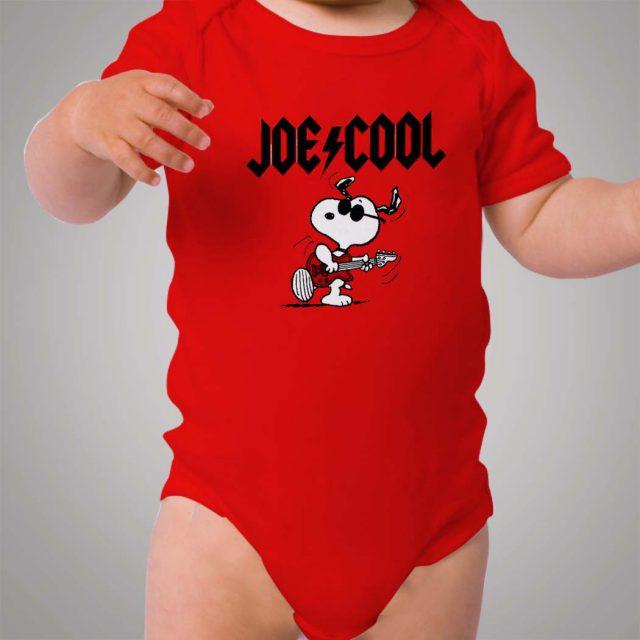Snoopy Joe Cool Baby Onesie Bodysuit