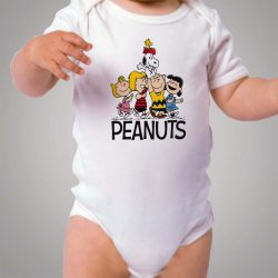 Snoopy Peanuts Happy Face Baby Onesie Bodysuit