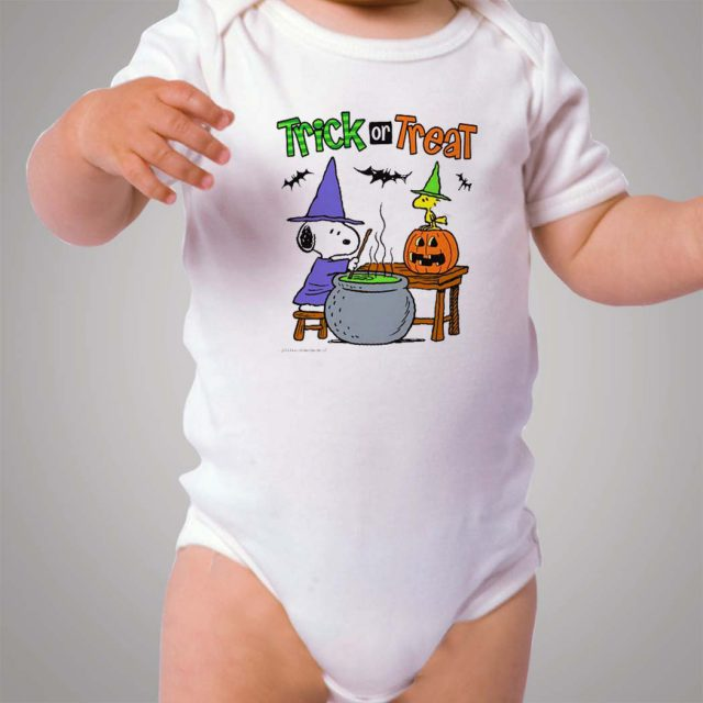 Snoopy Trick Or Treat Baby Onesie Bodysuit