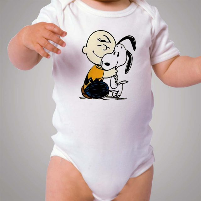 Snoopy and Charlie Best Friend Baby Onesie Bodysuit