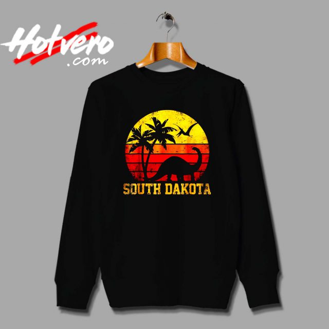 South Dakota Dinosaur Beach Sweatshirt