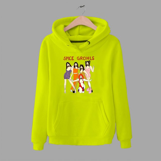 Spice Grohls Foo Figthers Parody Hoodie