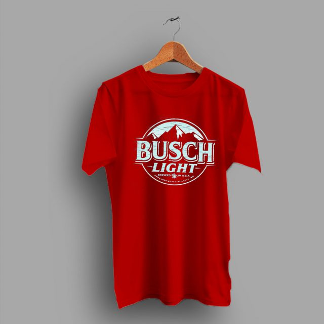 St.Louis Busch Light Beer T Shirt