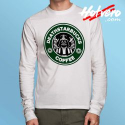 Starwars Deathstarbucks Coffee Long Sleeve Shirt