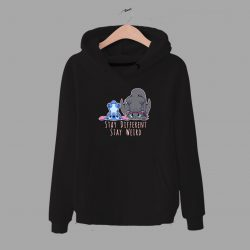 Stay Weird Lilo Stitch Disney Quote Unisex Hoodie
