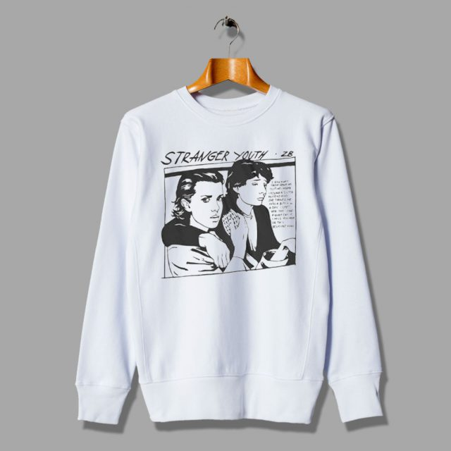 Stranger Things Eleven Sonic Youth Sweatshirt