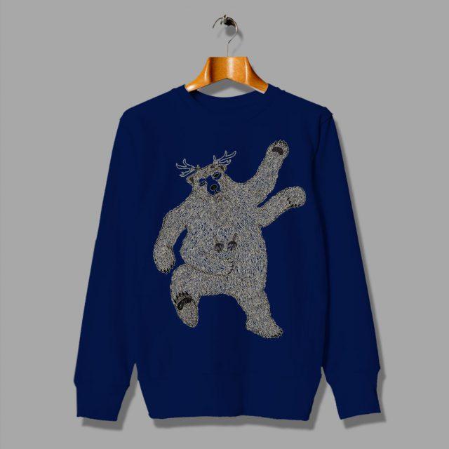 Stranger Things Monster Bear Cute Sweatshirt