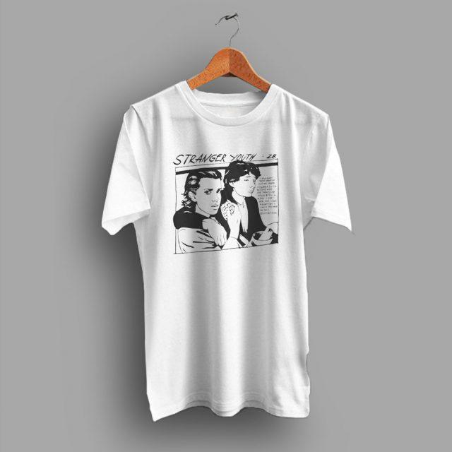 Stranger Things Sonic Youth Parody T Shirt