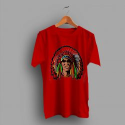 Summer American Indian Classic Cassual T Shirt