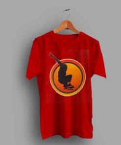 Sunset Skater Emblazoned Classic 70s T Shirt