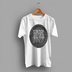 Superbowl Sunday Funday Football College T Shirt