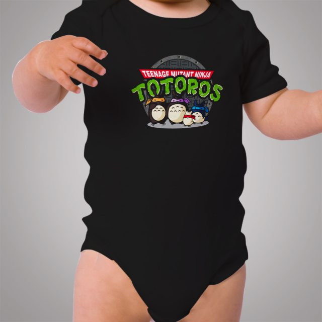 TMNT Totoro Funny Baby Onesie Bodysuit