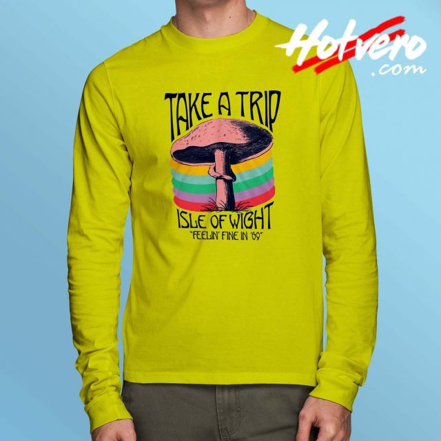 Take A Trip Isle Of Wight Long Sleeve T Shirt