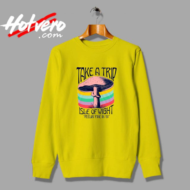 Take A Trip Isle Of Wight Unisex Sweatshirt