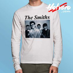 The Smiths Vintage Rock Band Long Sleeve Shirt