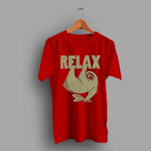 This Animal Theme Retro Slow Moving Relax T Shirt
