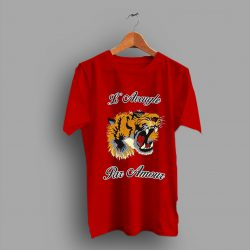 Tiger Head Gucci Roaring T Shirt