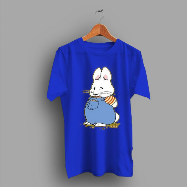 Times To Rabbit Character Max Ruby Cute T Shirt