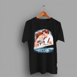 Titanic Leonardo DiCaprio Kate Winslet Movie Poster T Shirt